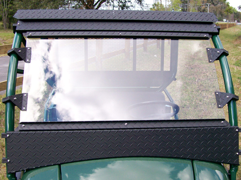mule 610 poly windshield