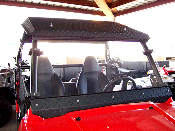 ranger rzr diamondplate roof