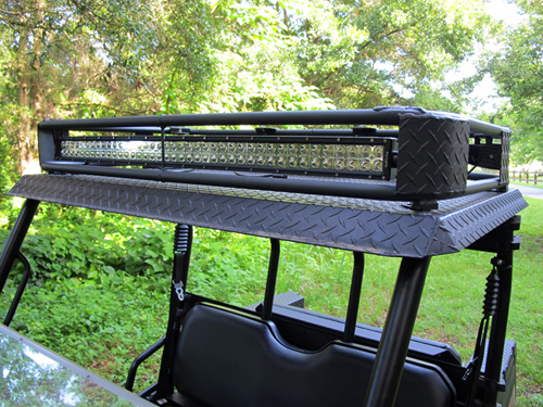 roof rack with led lights