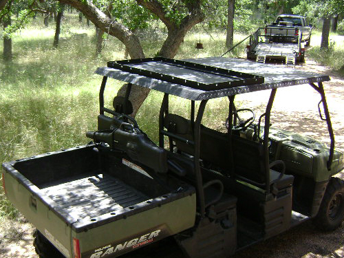 polaris ranger roof rack