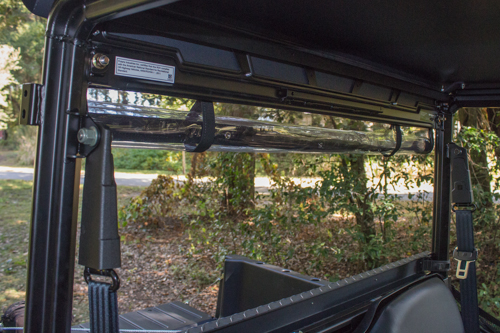 POLARIS RANGER THREE PIECE VINYL REAR WINDOW